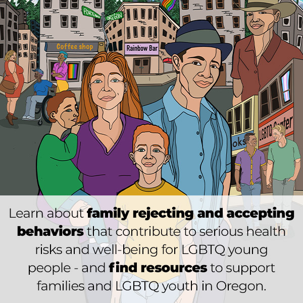Oregon LGBTQ Youth & Family Resources